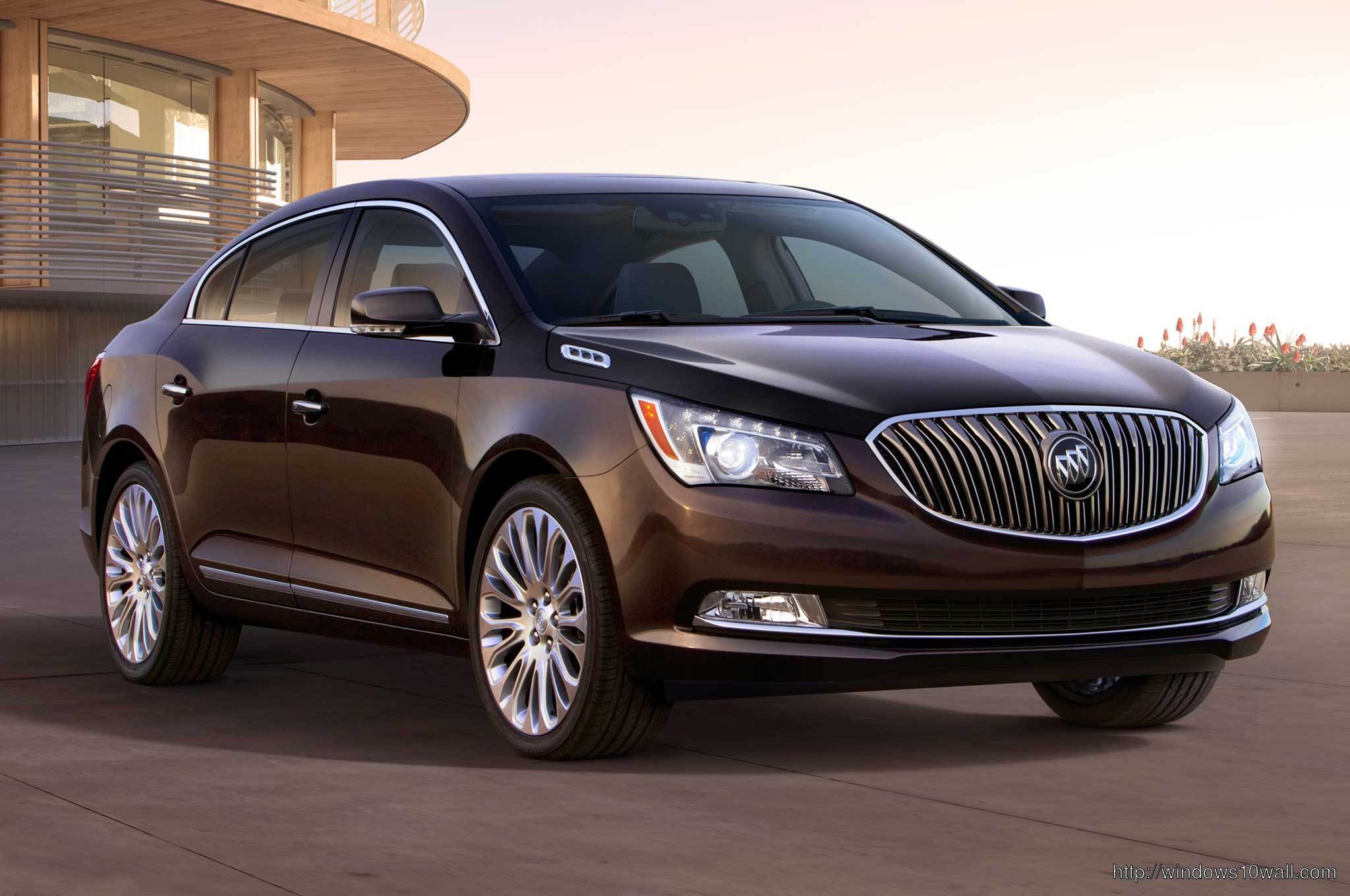 2014 Buick LaCrosse front side view Wallpaper