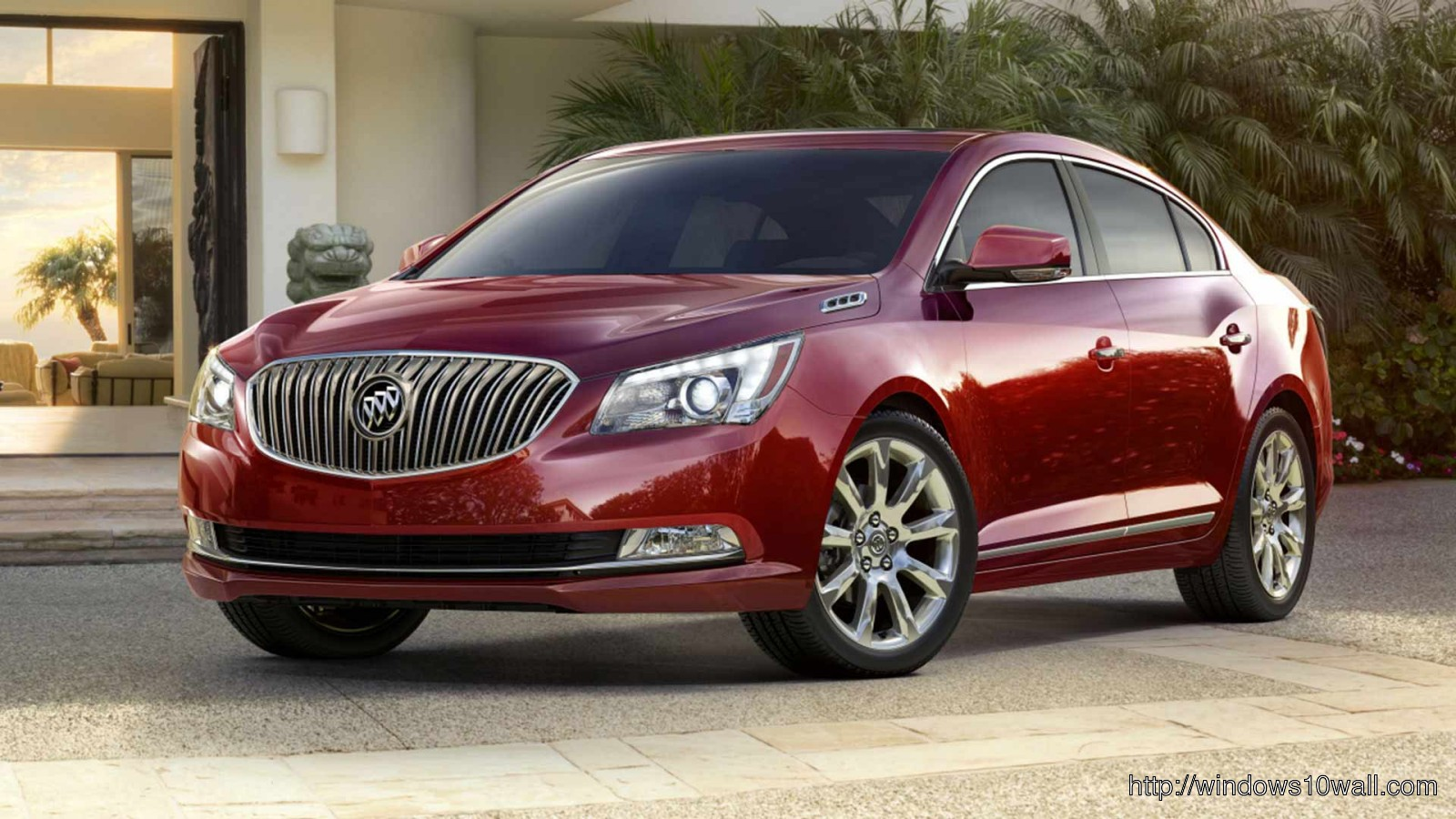 2014 buick Red Car Wallpaper