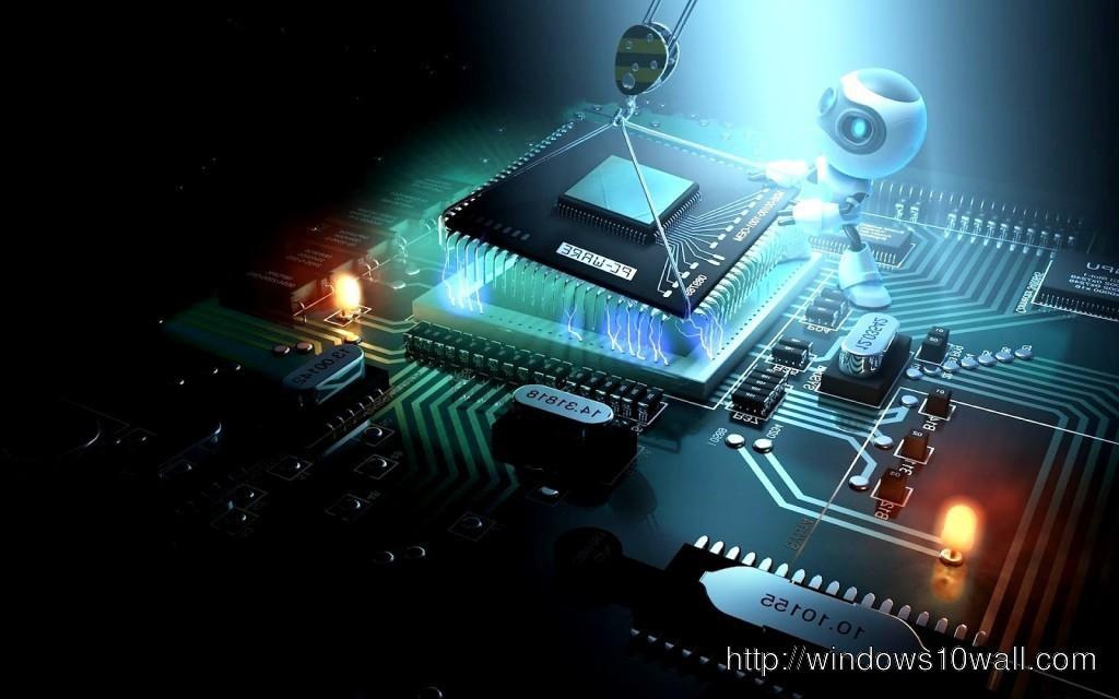 3d wallpaper motherboard widescreen 1024x640 windows 10