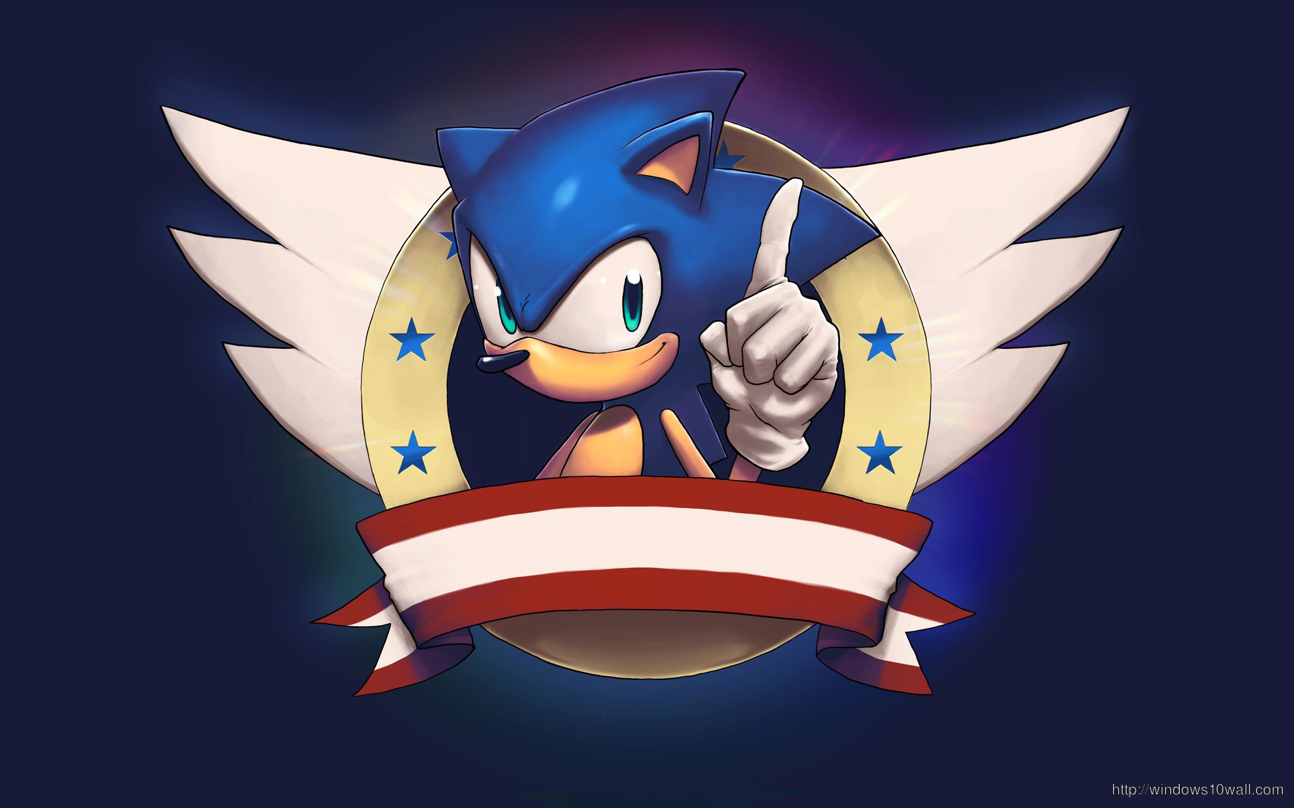 Sonic The Hedgehog Windows 10 Wallpapers