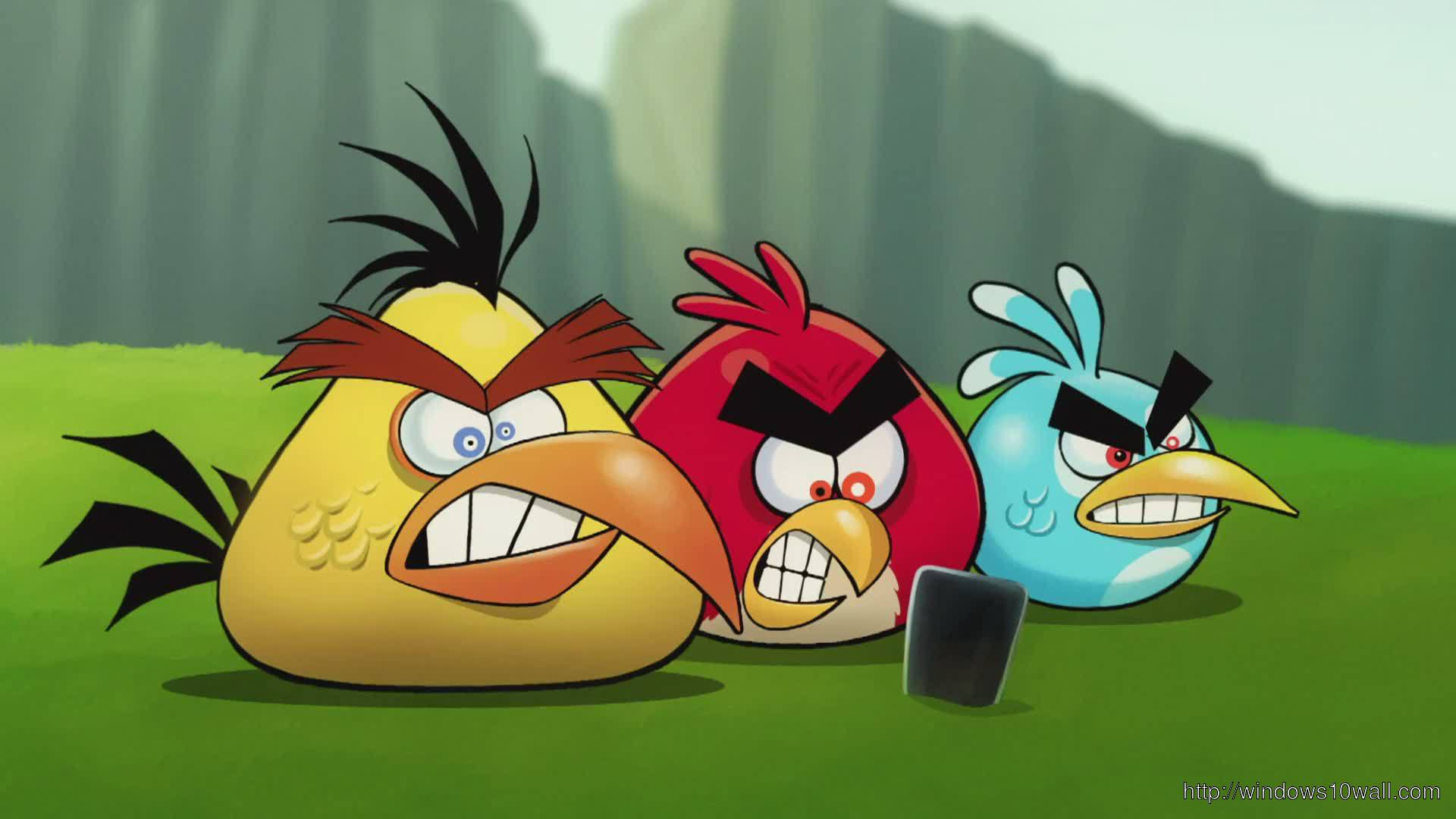 Angry Birds Wallpaper For Xp