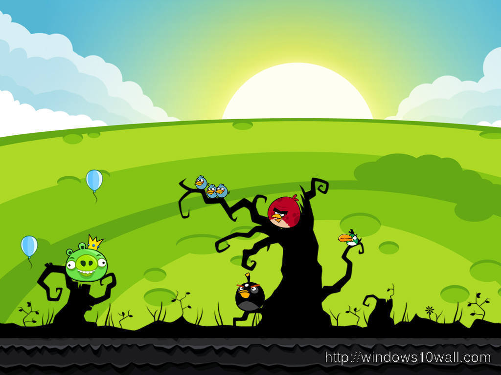 Angry Birds Wallpaper Windows