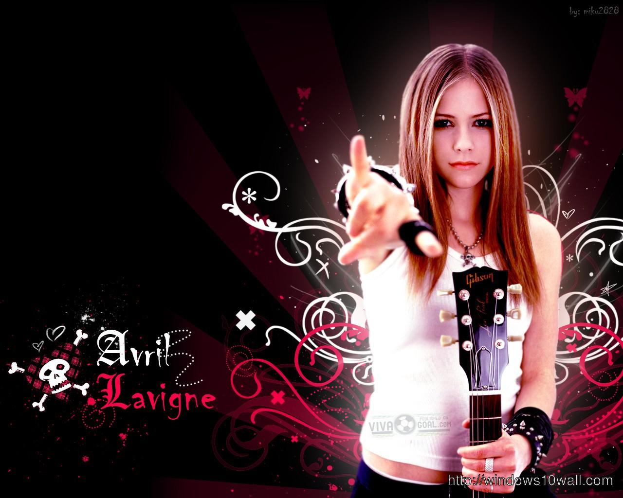 Avril Lavigne Wallpaper Cute