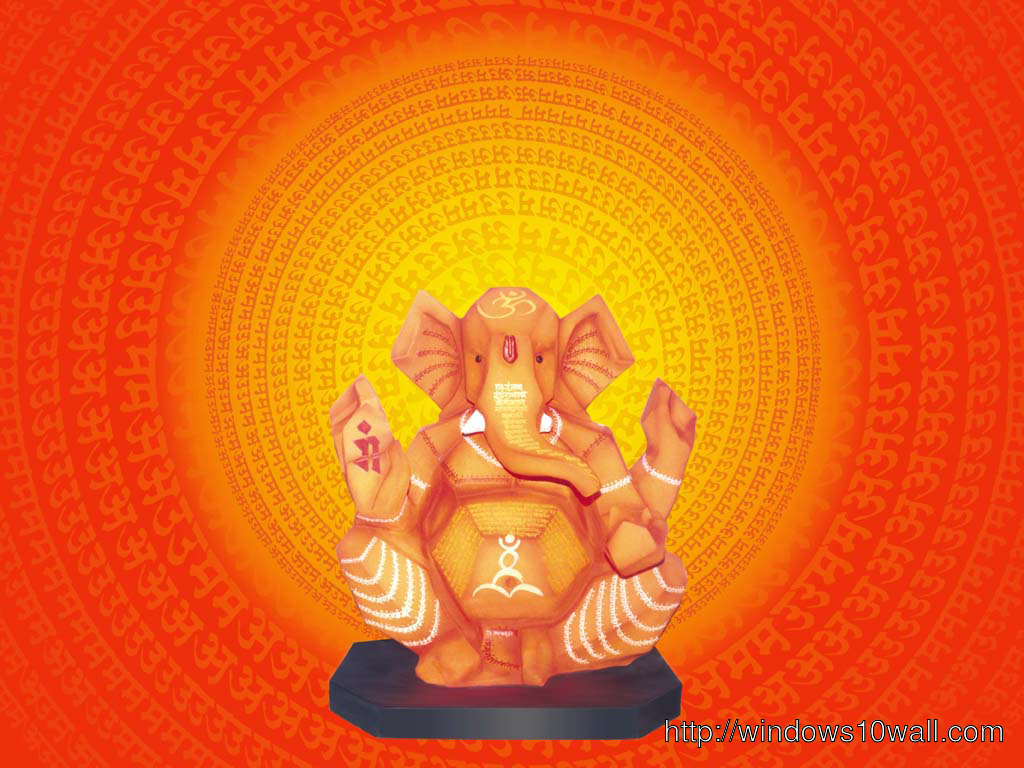 Best Ganpati HD Desktop Wallpaper