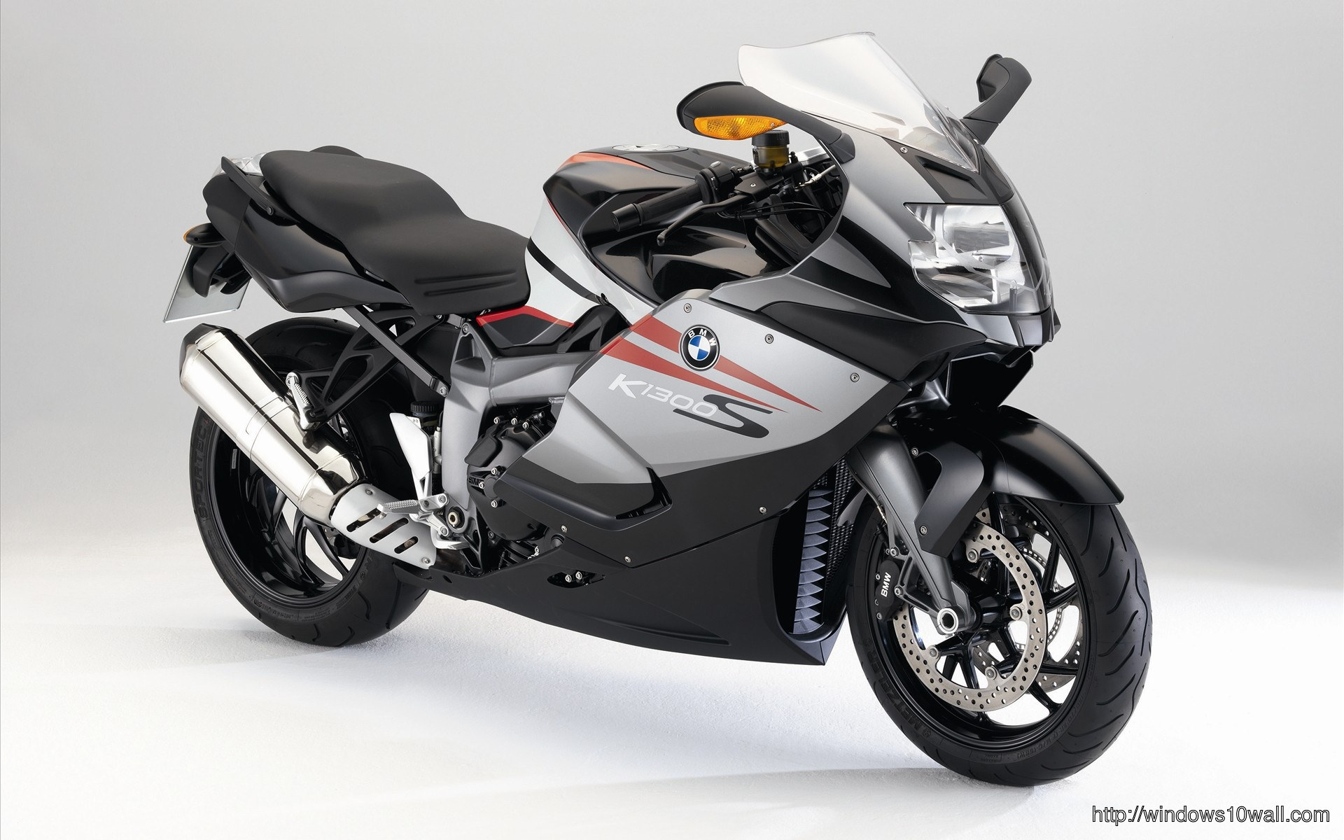 Bmw K 1200 S White Bike