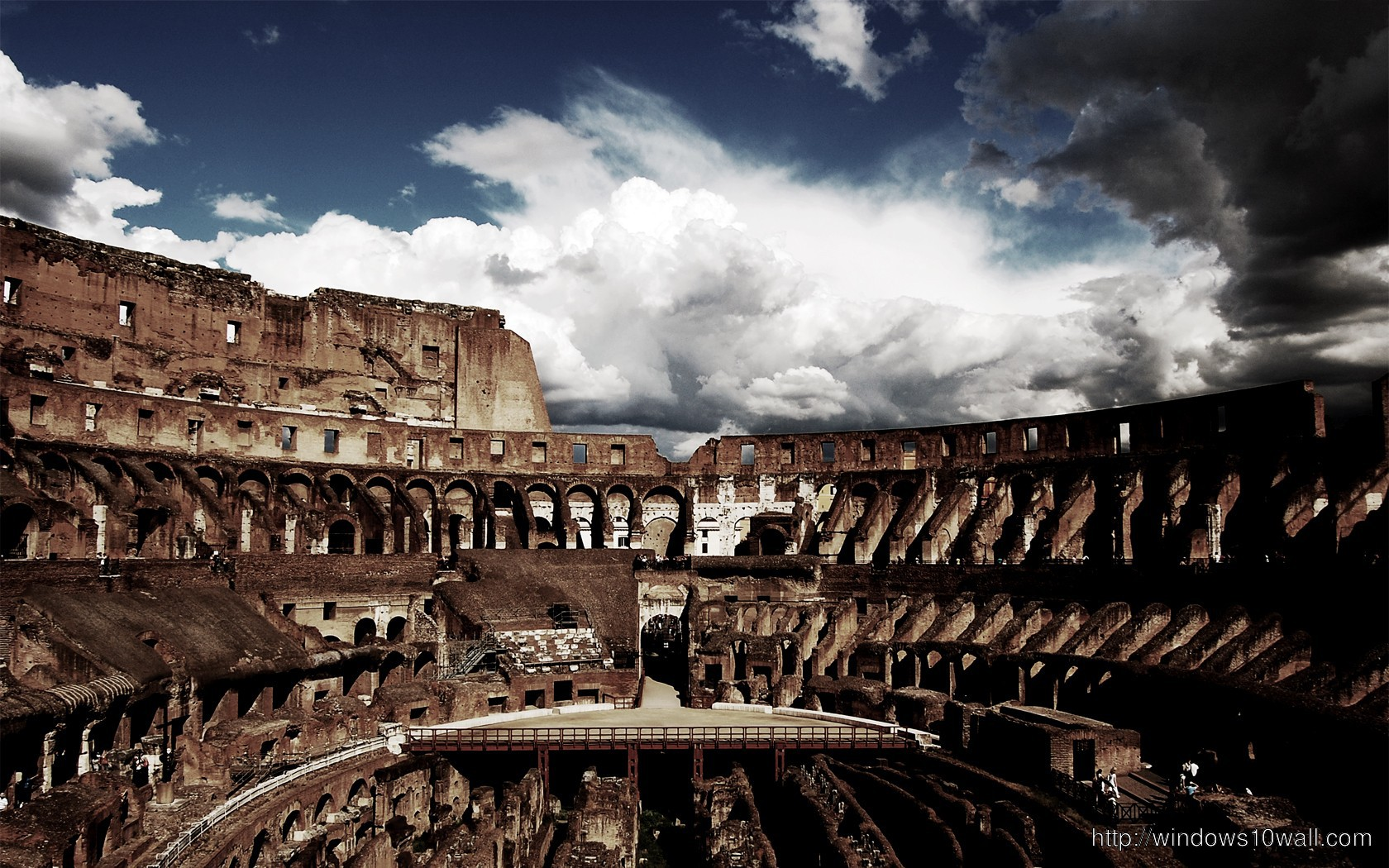 colosseum-top-view-wallpaper