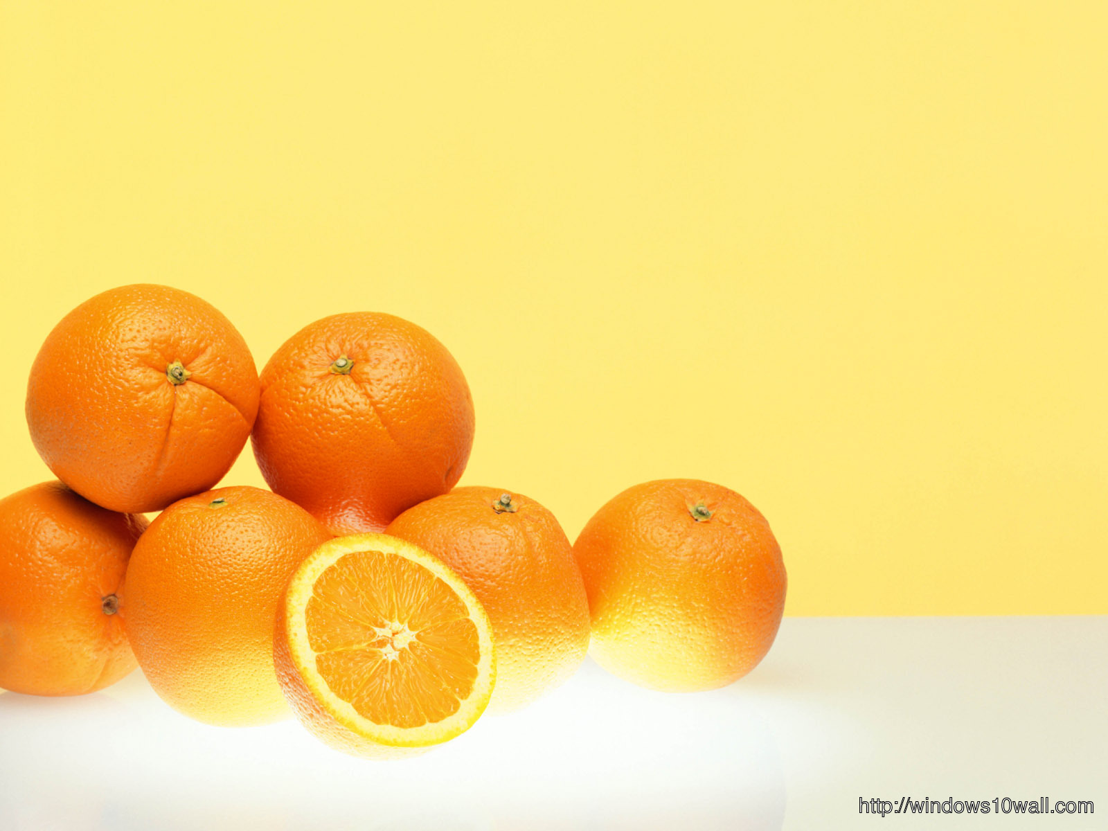 High Quality Orange Wallpaper: Windows 10 Wallpapers