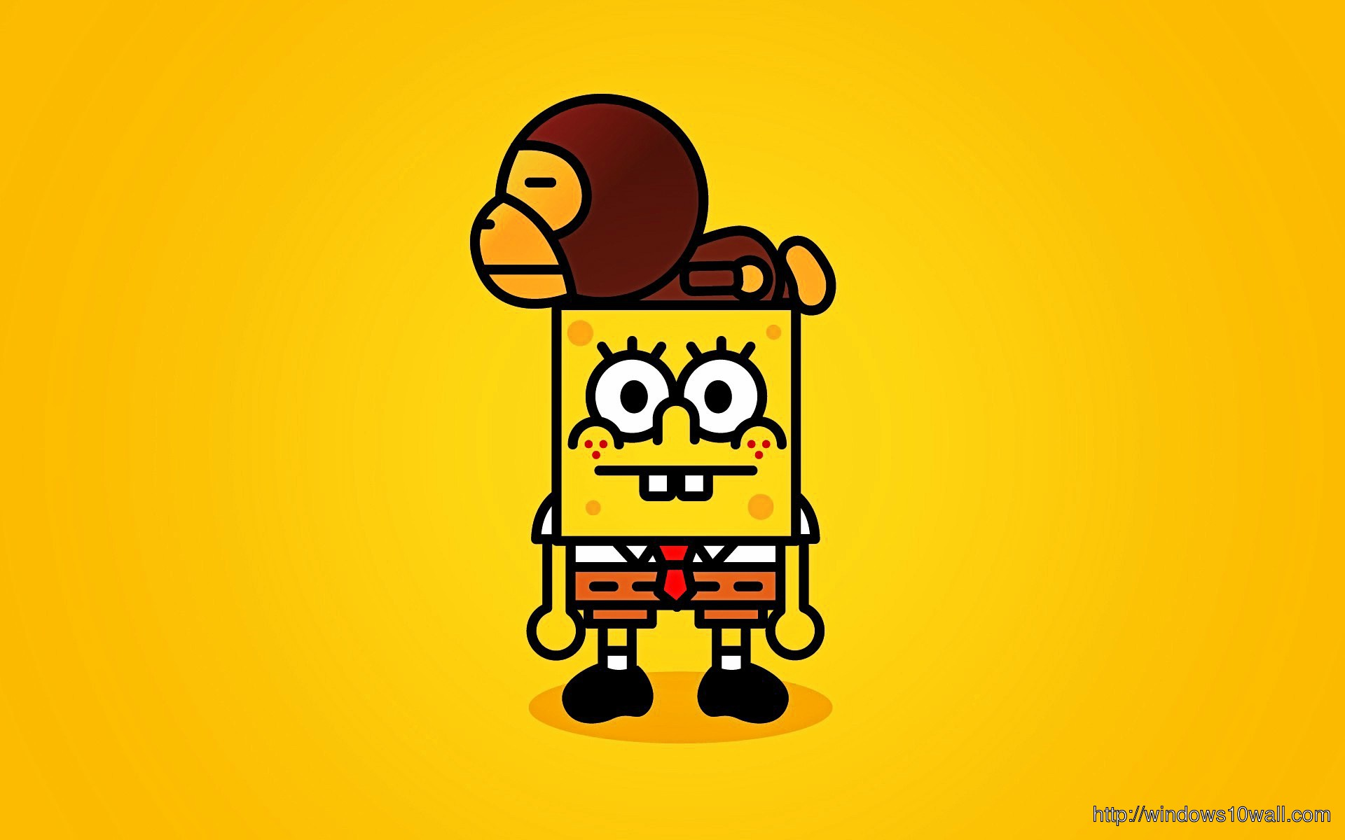 Funny Spongebob Background Wallpaper Windows 10 Wallpapers