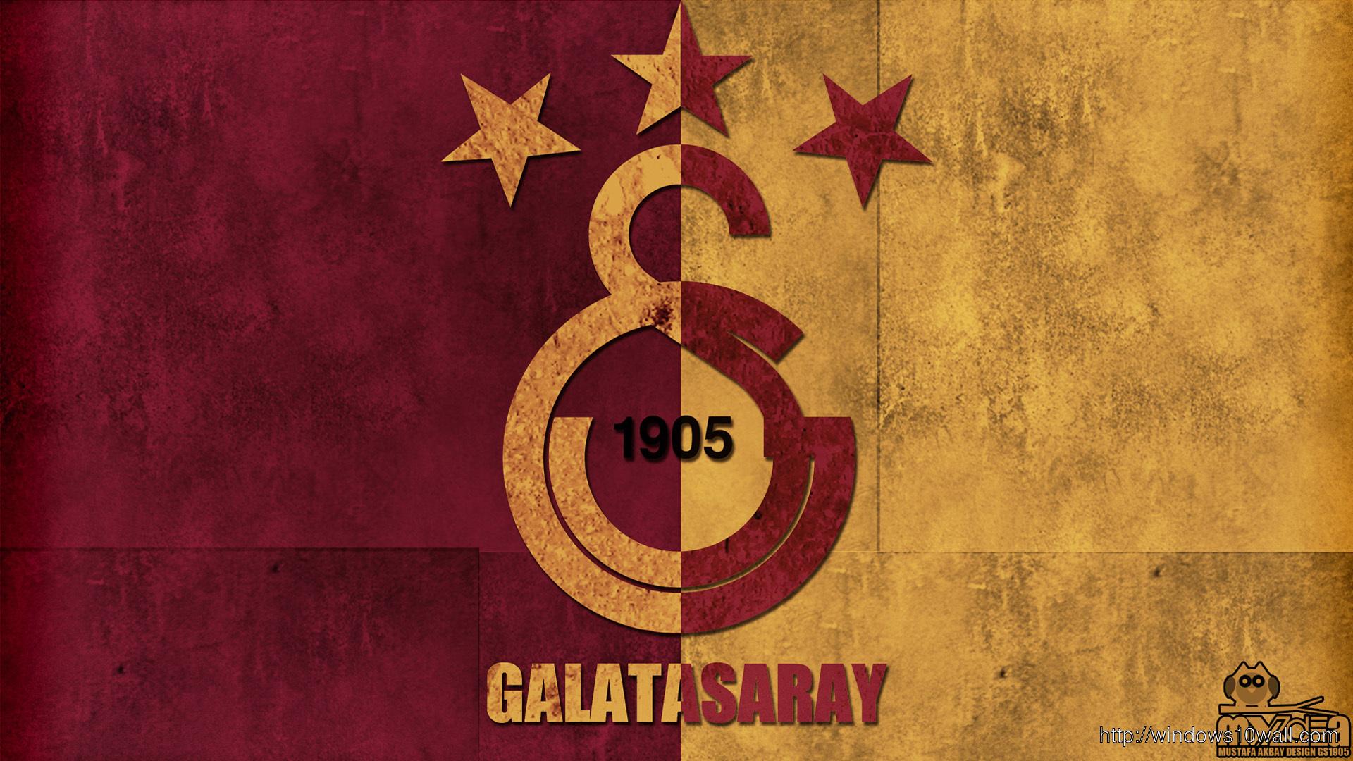 Galatasaray Logo Background Wallpaper ⋆ Windows 10 Wallpapers