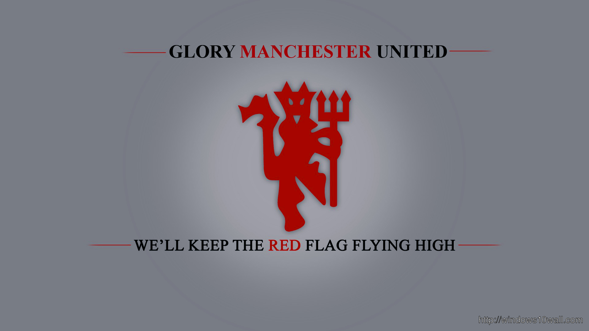 Glory Manchester United Background Wallpaper Windows 10 Wallpapers