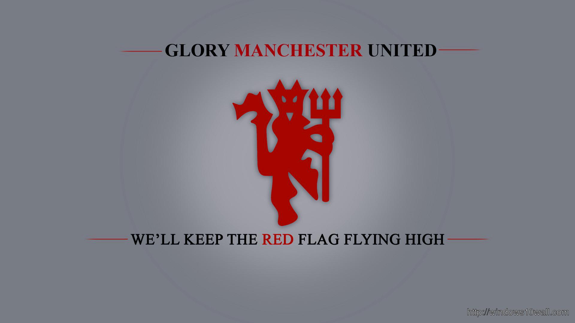 Glory Manchester United Background Wallpaper Windows 10