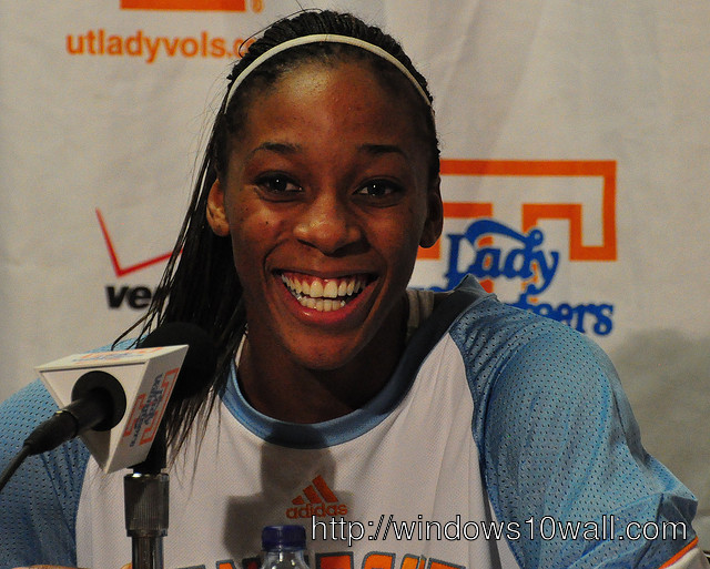 Glory Johnson Laughing out Loud Wallpaper
