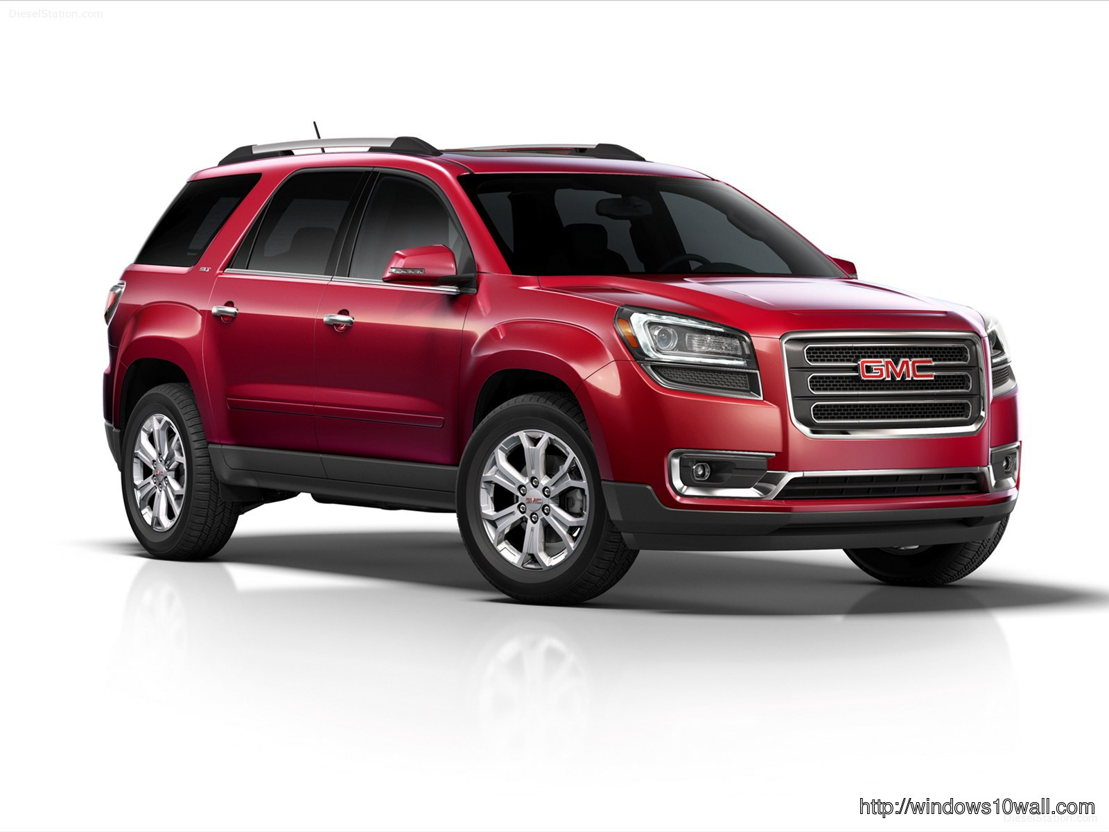 GMC Acadia Red 2013