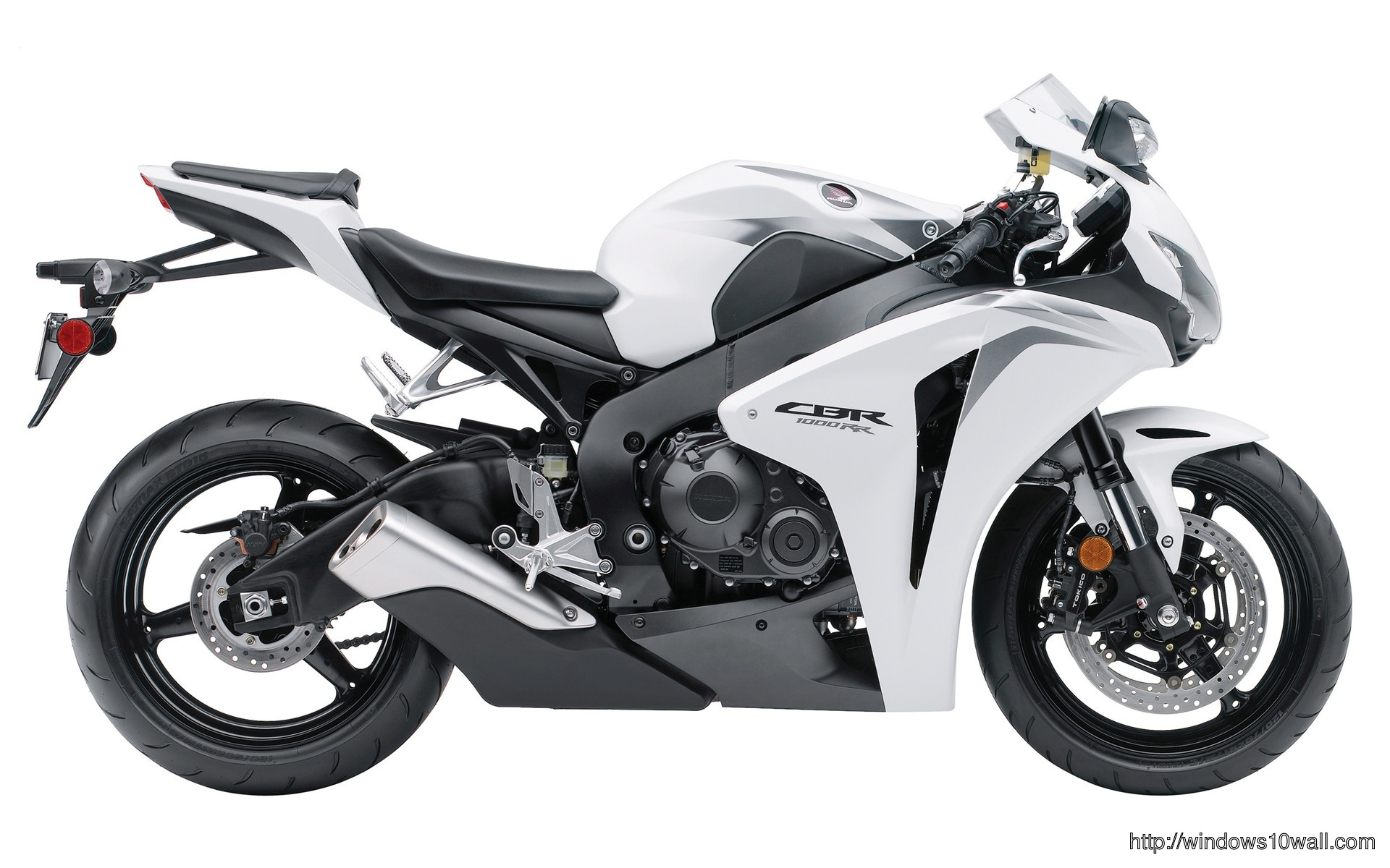 Honda Cbr 1000rr White Bike