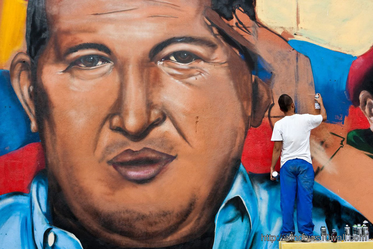 Hugo Chavez Painting