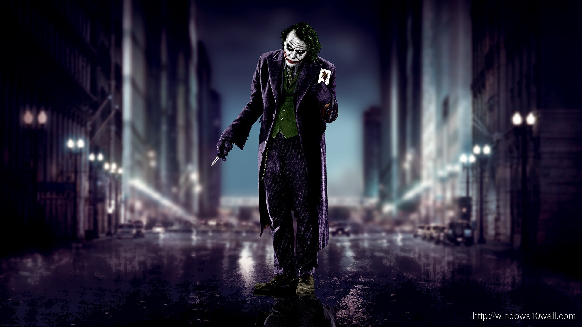 Joker In The Dark Knight Rises Movie Wallpaper Windows