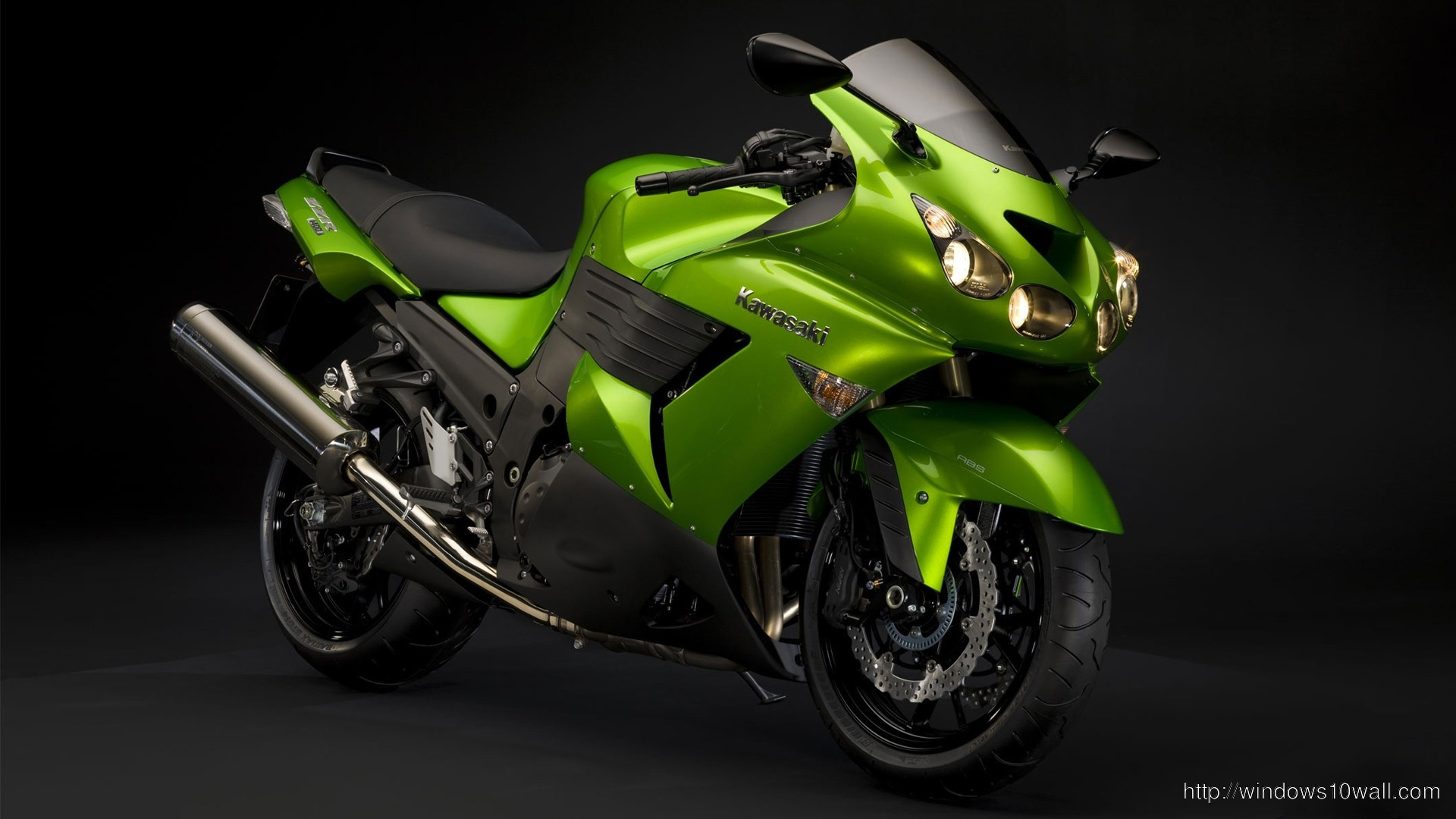 Kawasaki Abs Bike Windows 10 Wallpapers