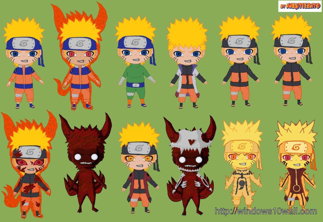 Naruto And Kurama Chibi