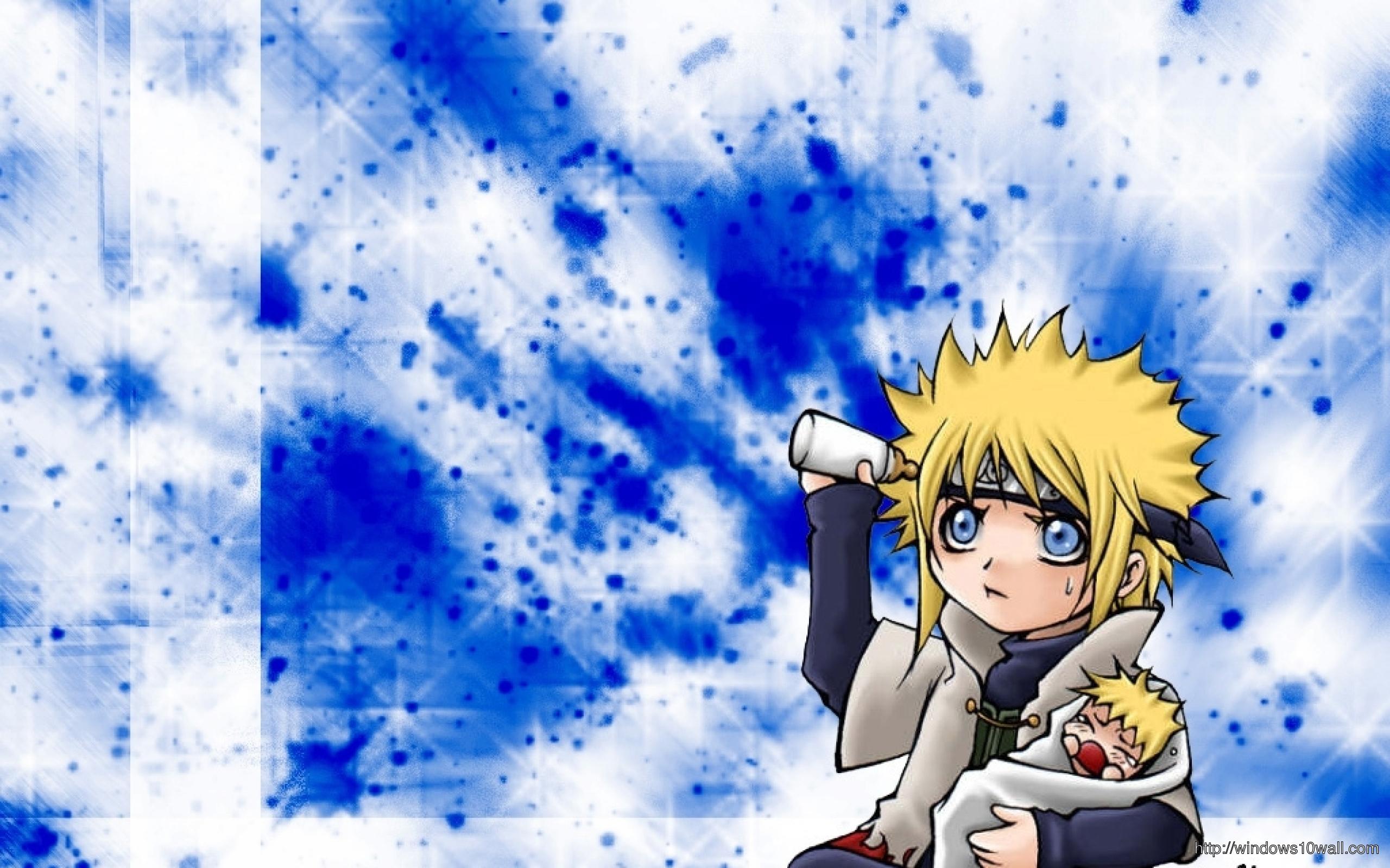 Naruto Baby And Minato