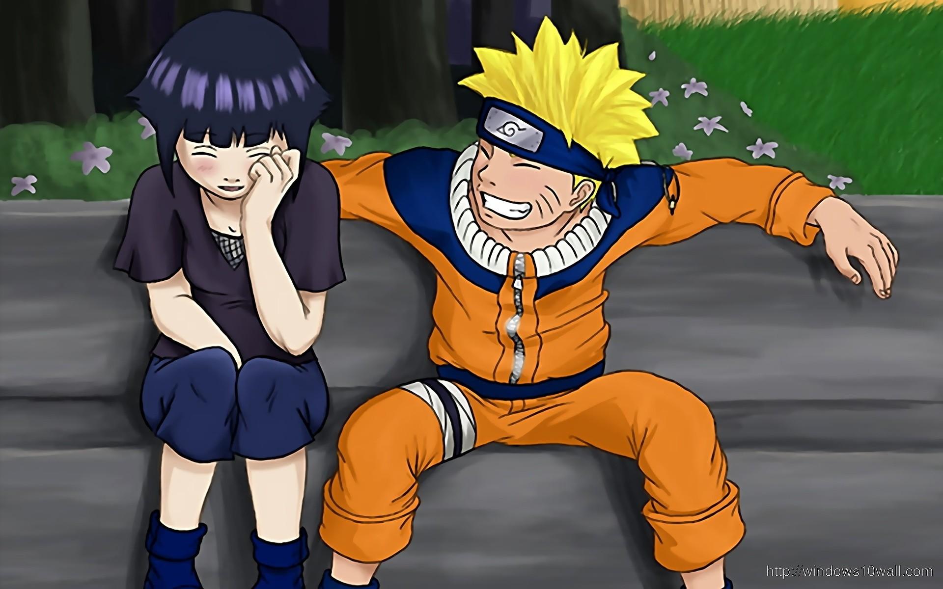 Naruto Crying Over Hinata