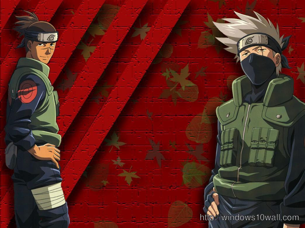 Naruto Iruka And Kakashi