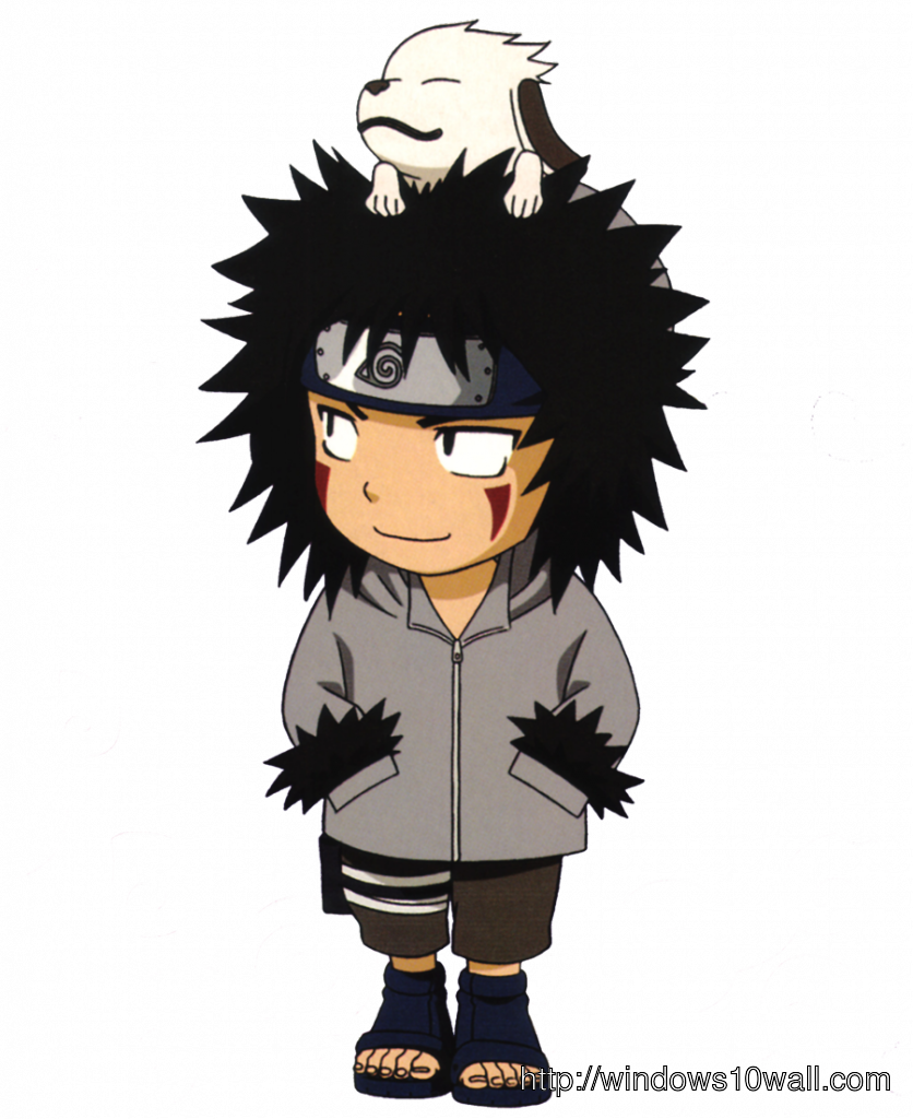 Naruto Kiba Chibi Windows 10 Wallpapers