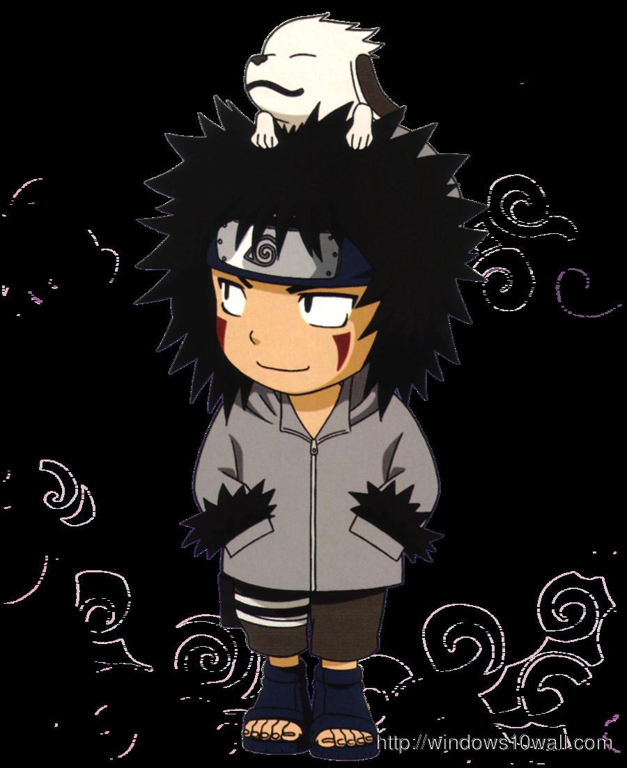 Naruto Kiba Chibi