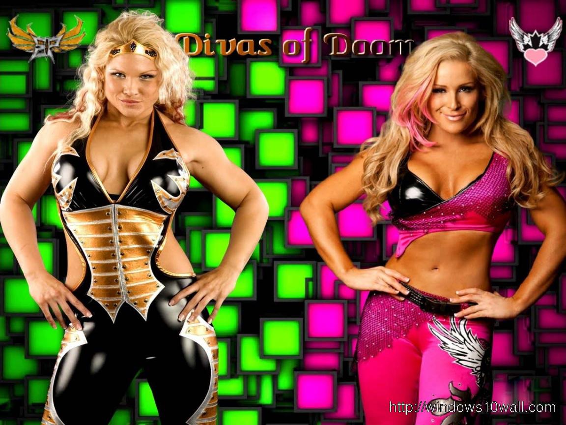 Natalya And Beth Phoenix Wallpaper