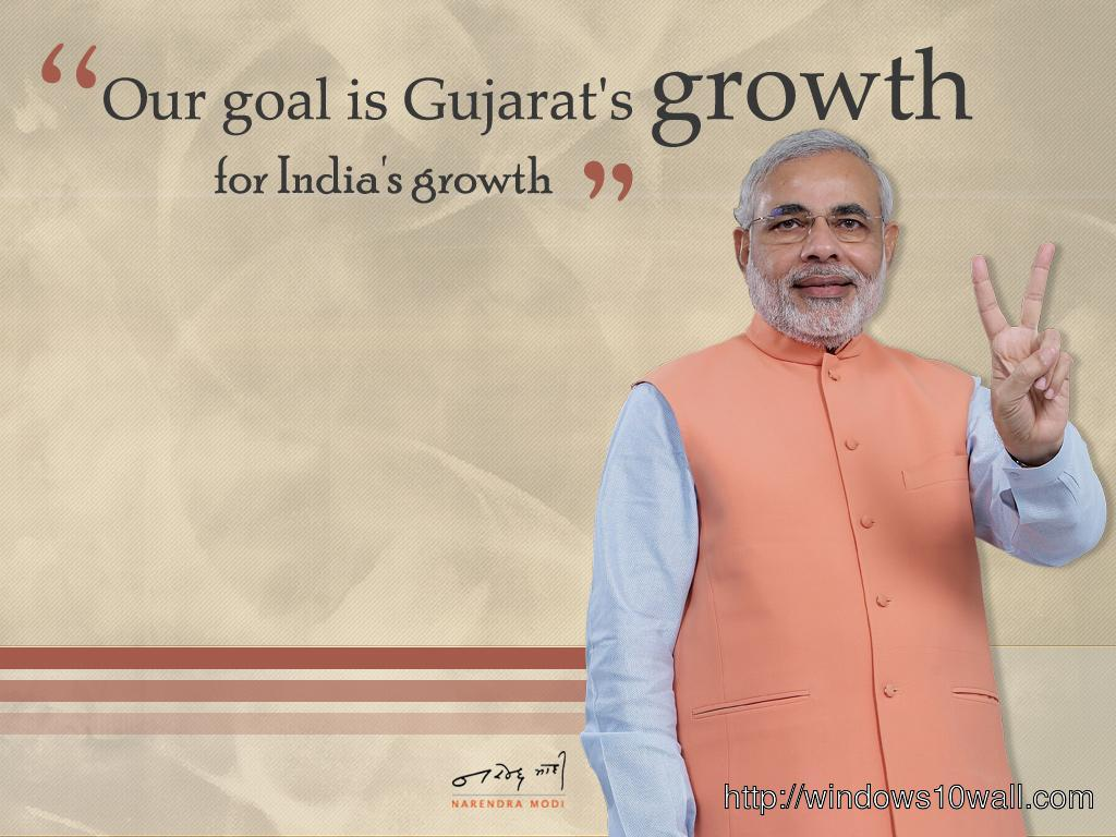 Prime Minister Narendra Modi India 2014 Wallpaper
