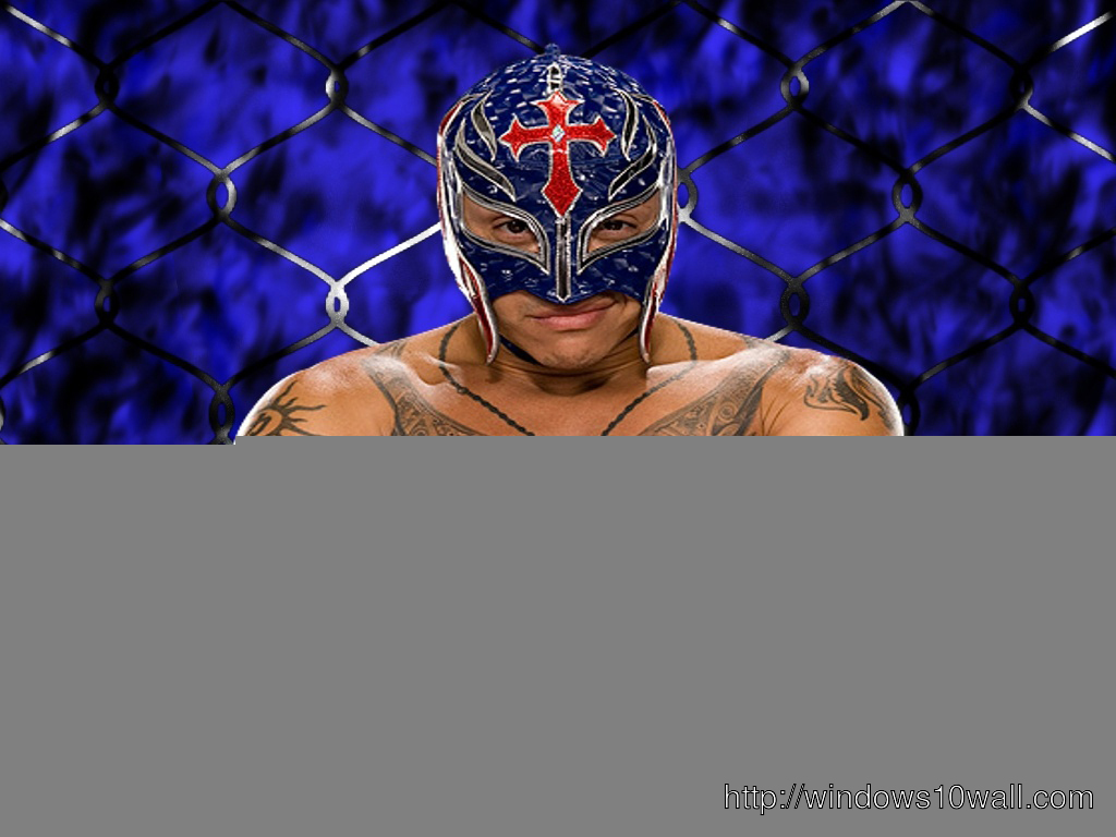 Rey Mysterio Blue Mask Wallpaper