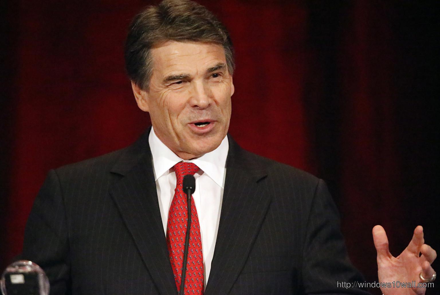 Rick Perry Giving Speech Wallpaper