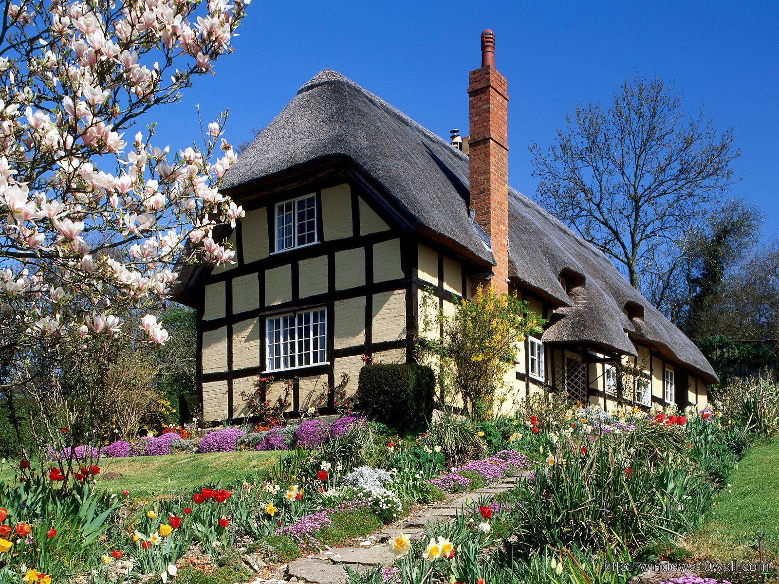 spring-garden-england-background-wallpaper