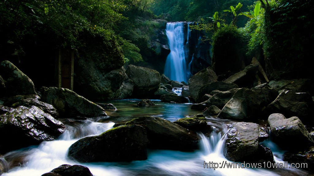 The Waterfall Wallpaper Windows 10 Wallpapers