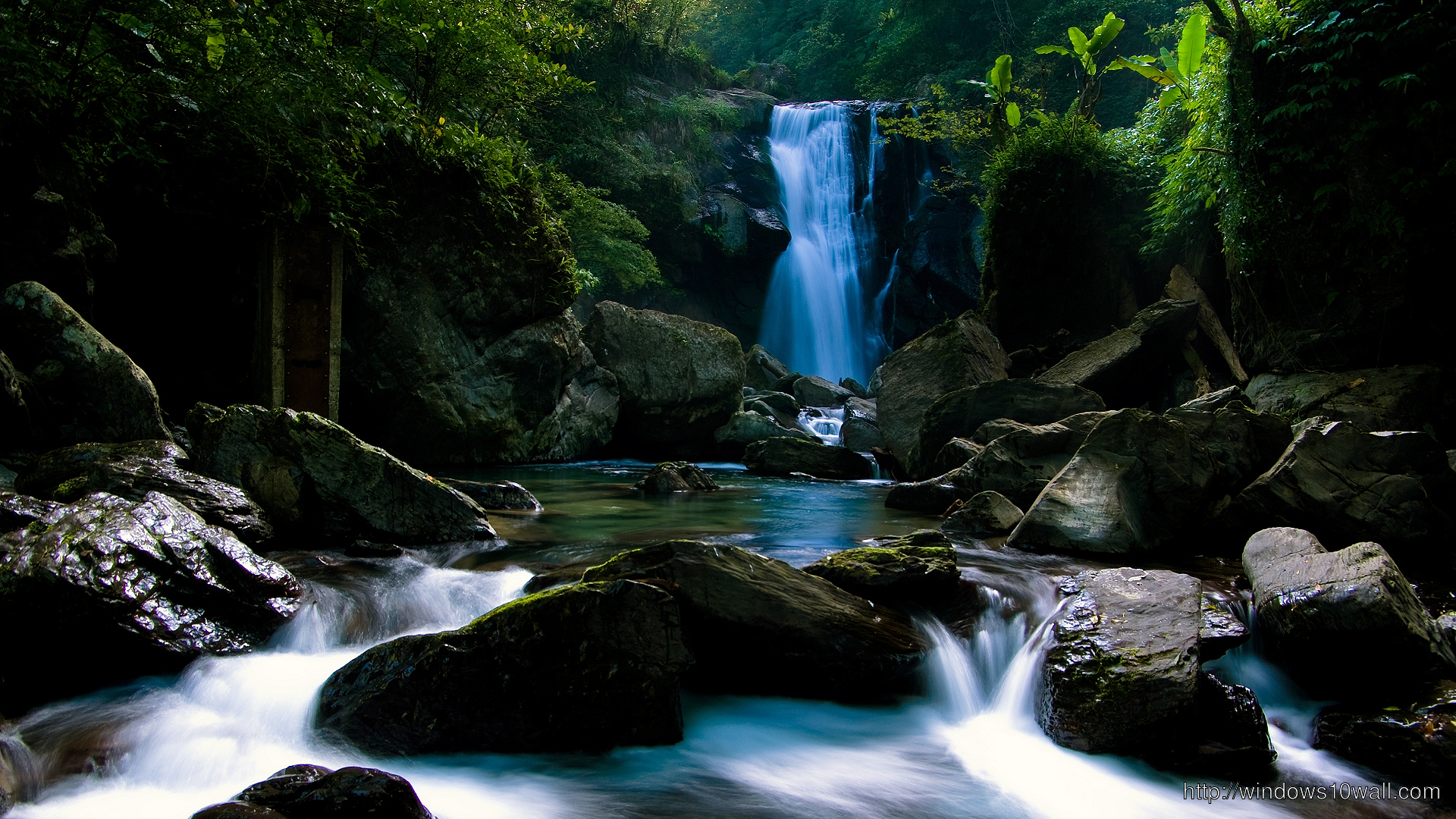 The Waterfall Wallpaper