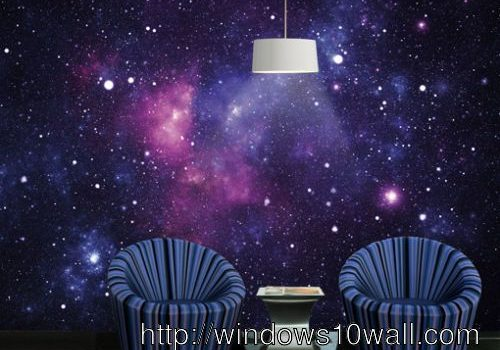 universe wallpaper for bedroom