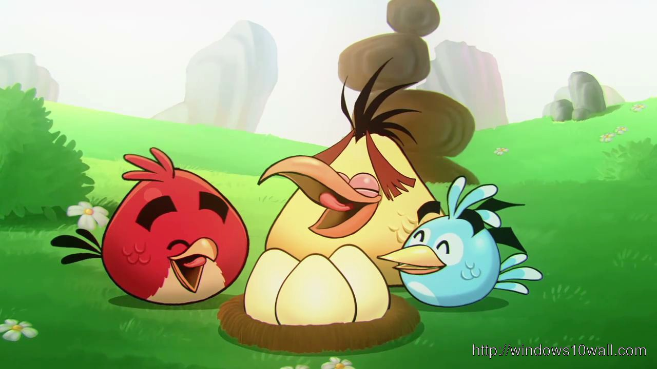 Wallpaper Angry Birds Cute