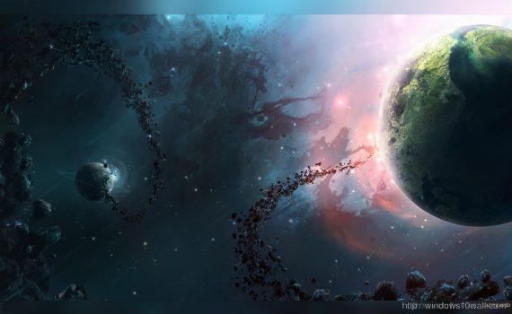 Widescreen Universe Wallpaper HD
