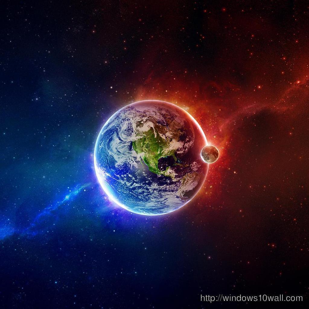 Abstract Earth iPad Wallpaper