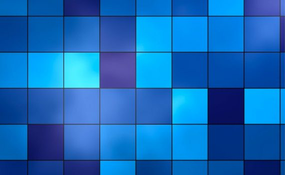 Blue pattern iPad Background Wallpaper