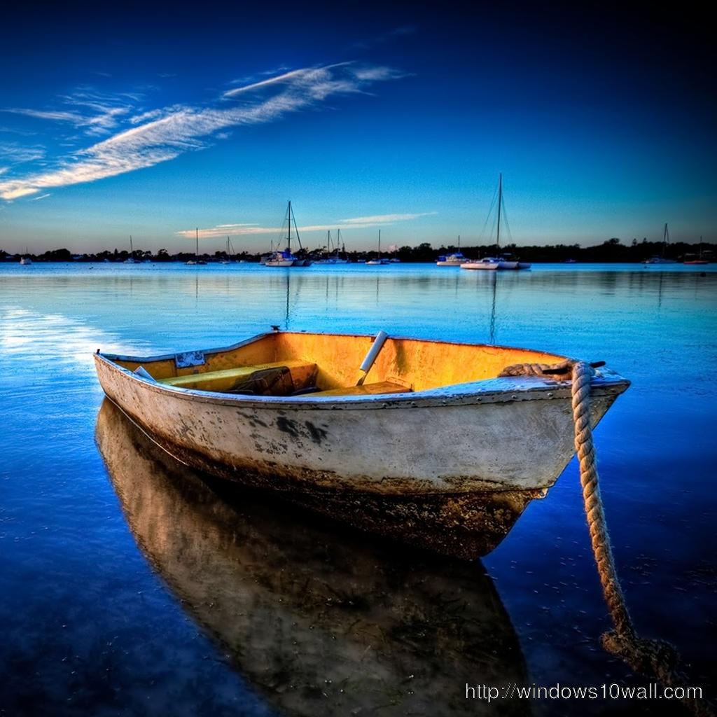 Boat iPad Wallpaper