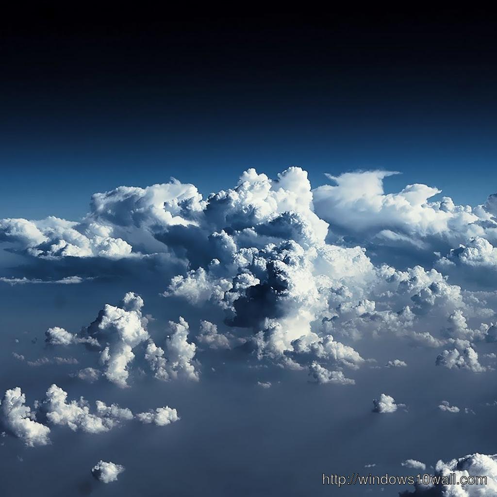 Cloud Ipad Background Wallpaper Windows 10 Wallpapers