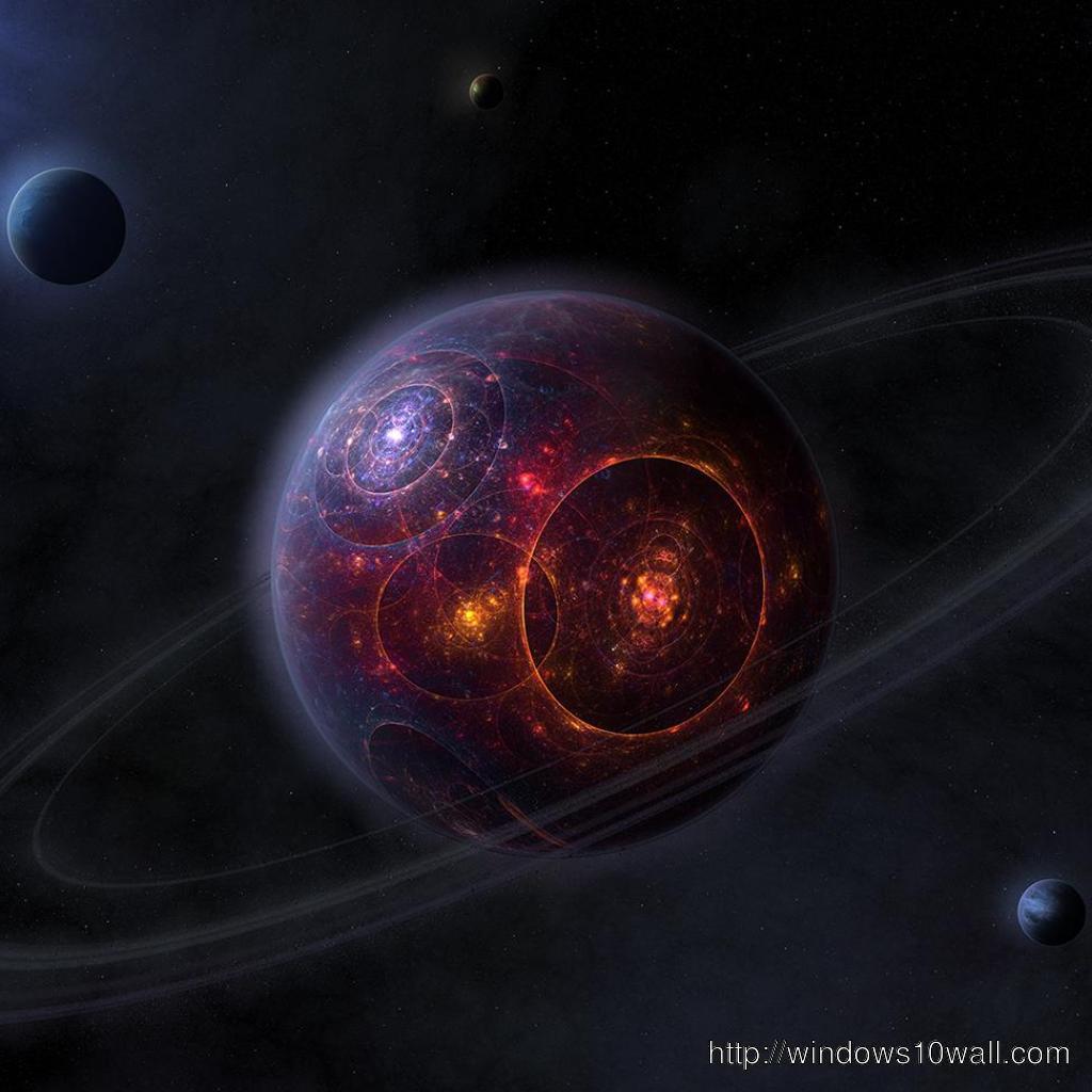futuristic planet ipad background wallpaper