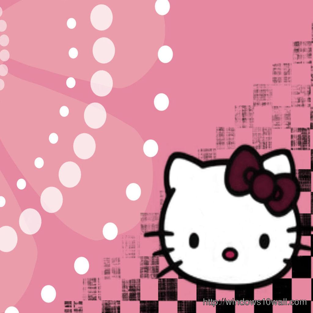 hello kitty iPad Background Wallpaper