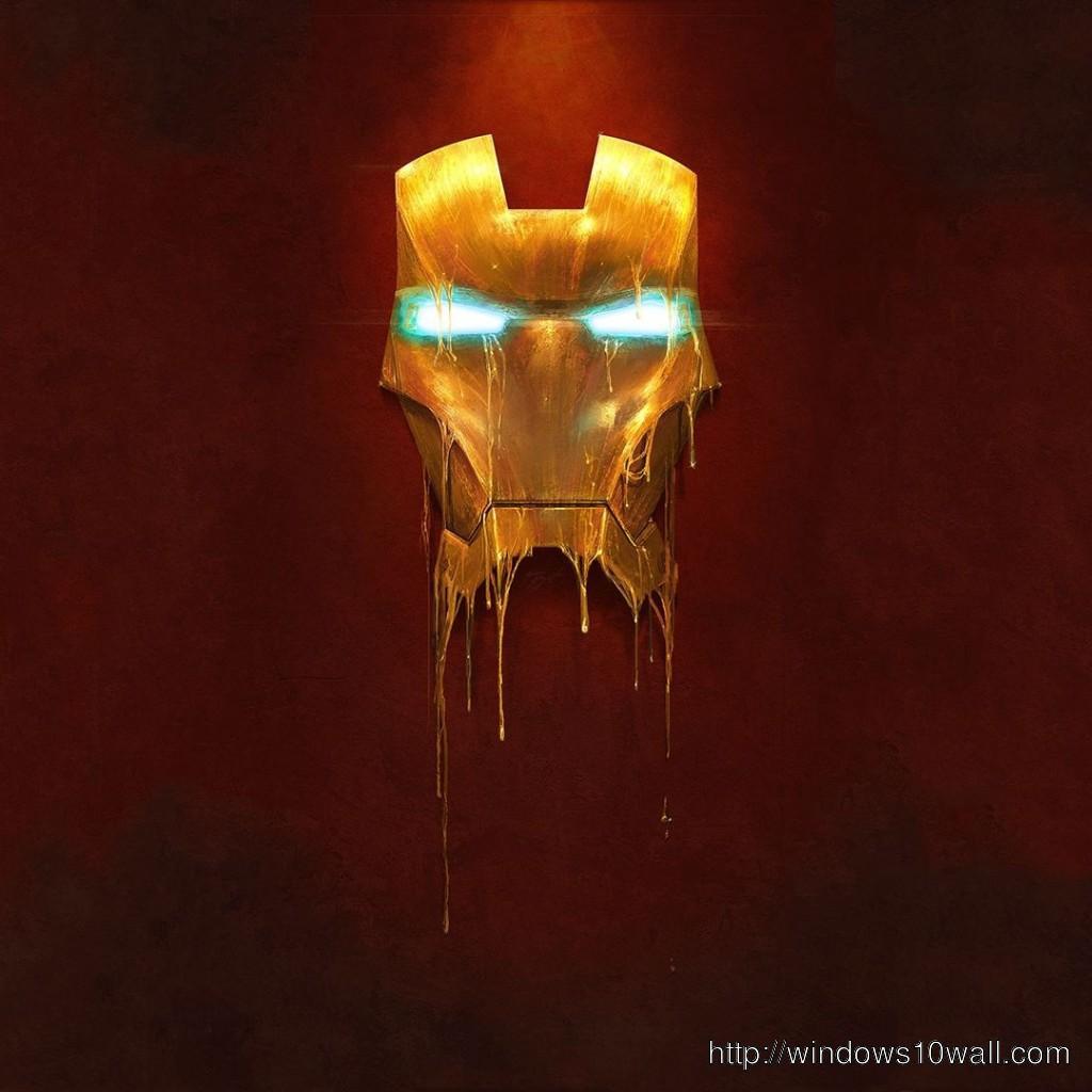 Iron Man 4 iPad Background Wallpaper