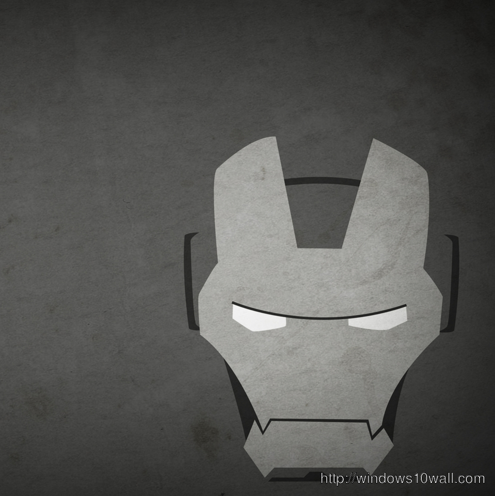 Iron Man Mask iPad Background Wallpaper