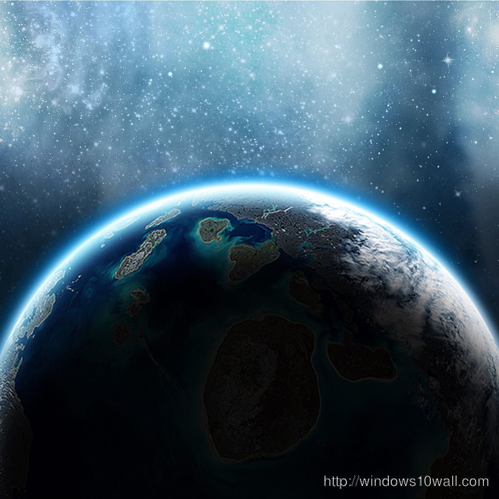 Planet Earth iPad Background Wallpaper
