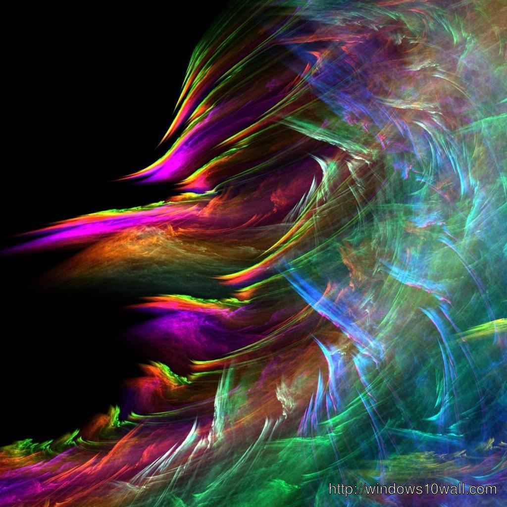 Rainbow Cloud iPad Background Wallpaper