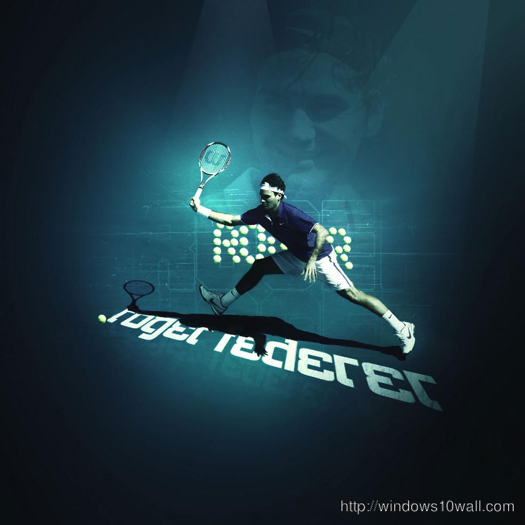 Roger Federer ipad Background Wallpaper