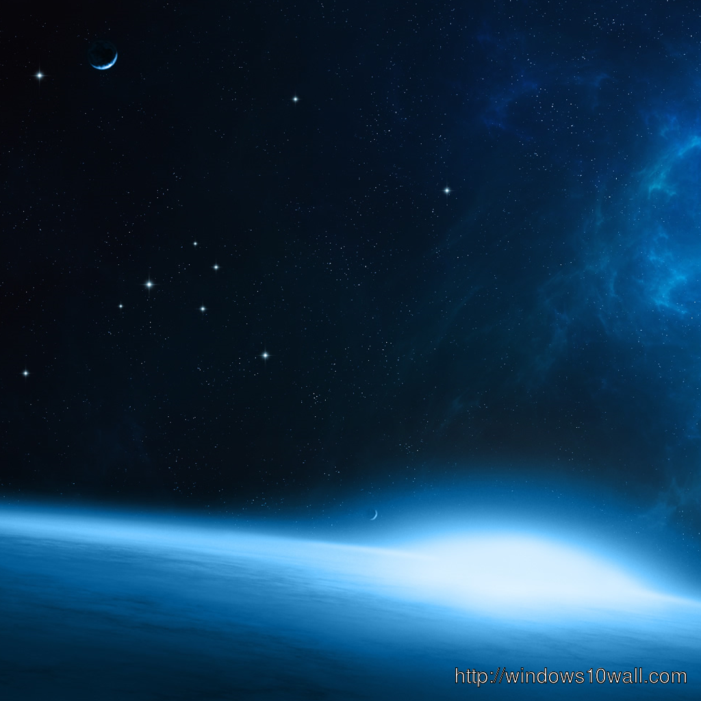 Space iPad Background Wallpaper