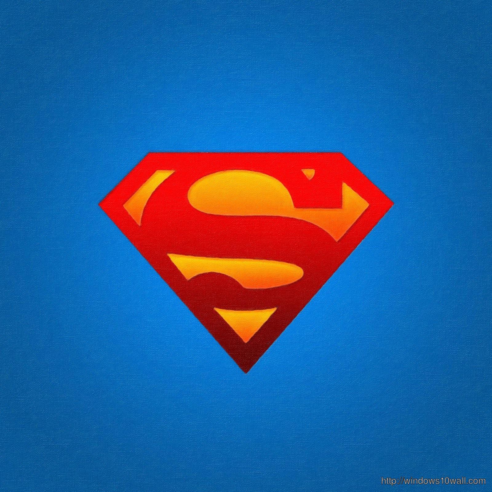 Superman iPad Background Wallpaper